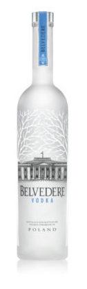 Bottiglia di Belvedere vodka 2