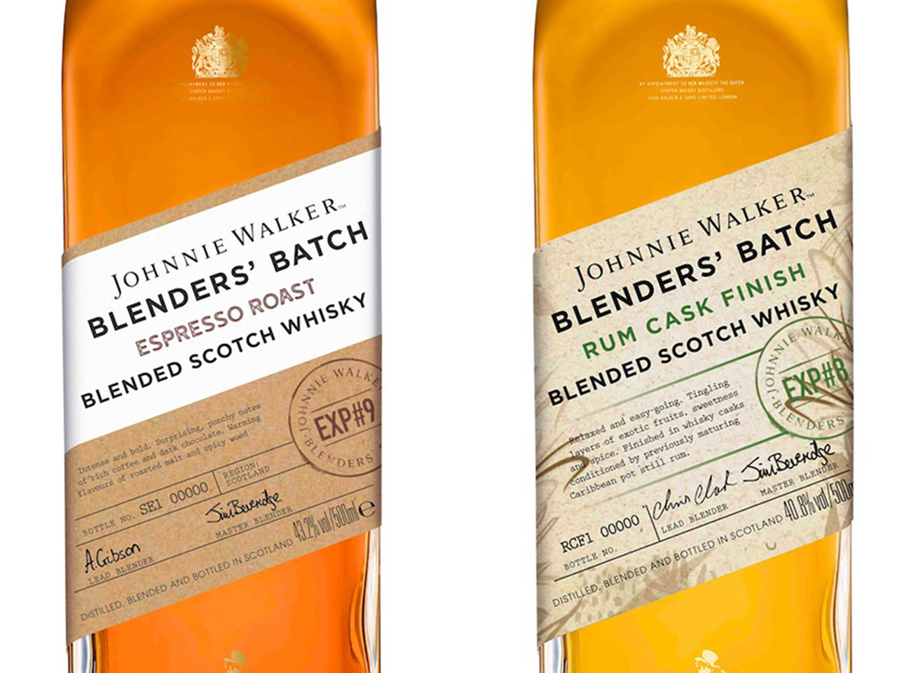 Johnnie Walker Blenders Batch Rum Cask and Espresso Roast